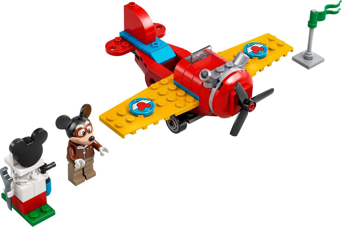 LEGO® Disney Mickey Mouse's Propeller Plane components