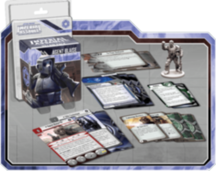 Star Wars: Imperial Assault - Agent Blaise components