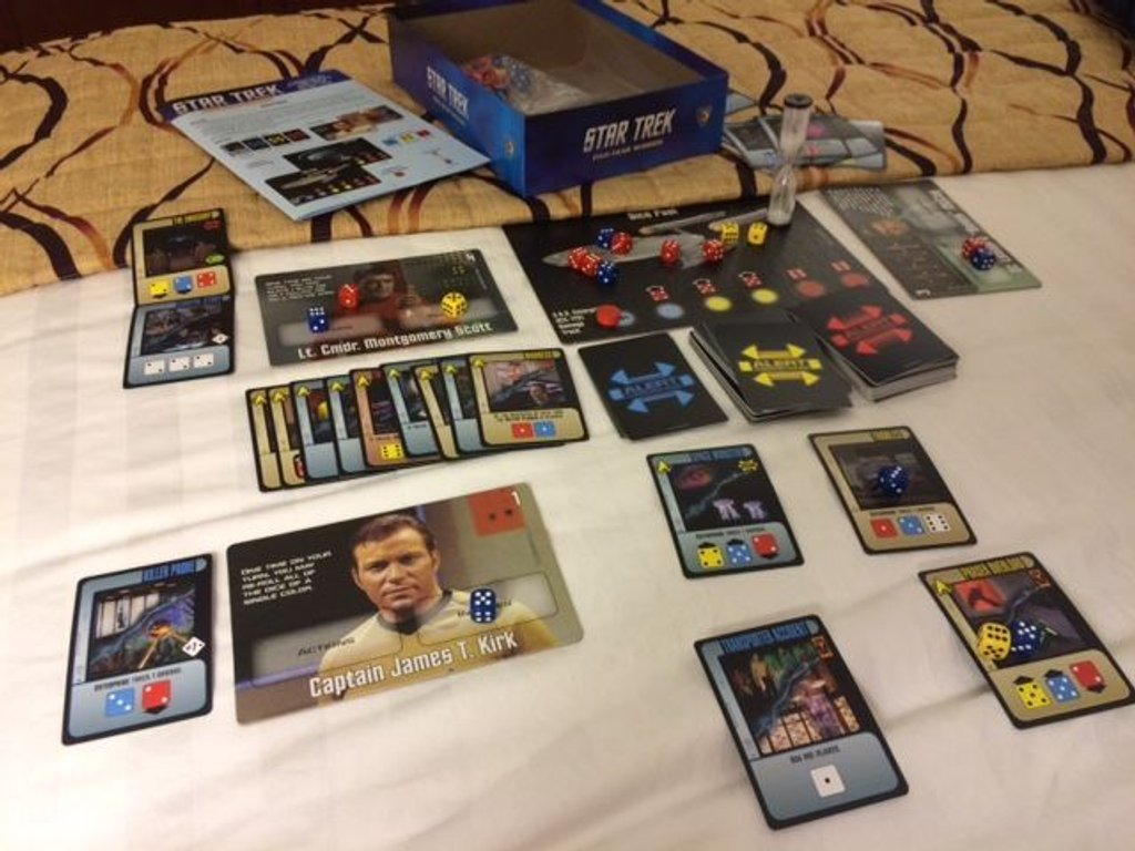 Star Trek: Five-Year Mission components