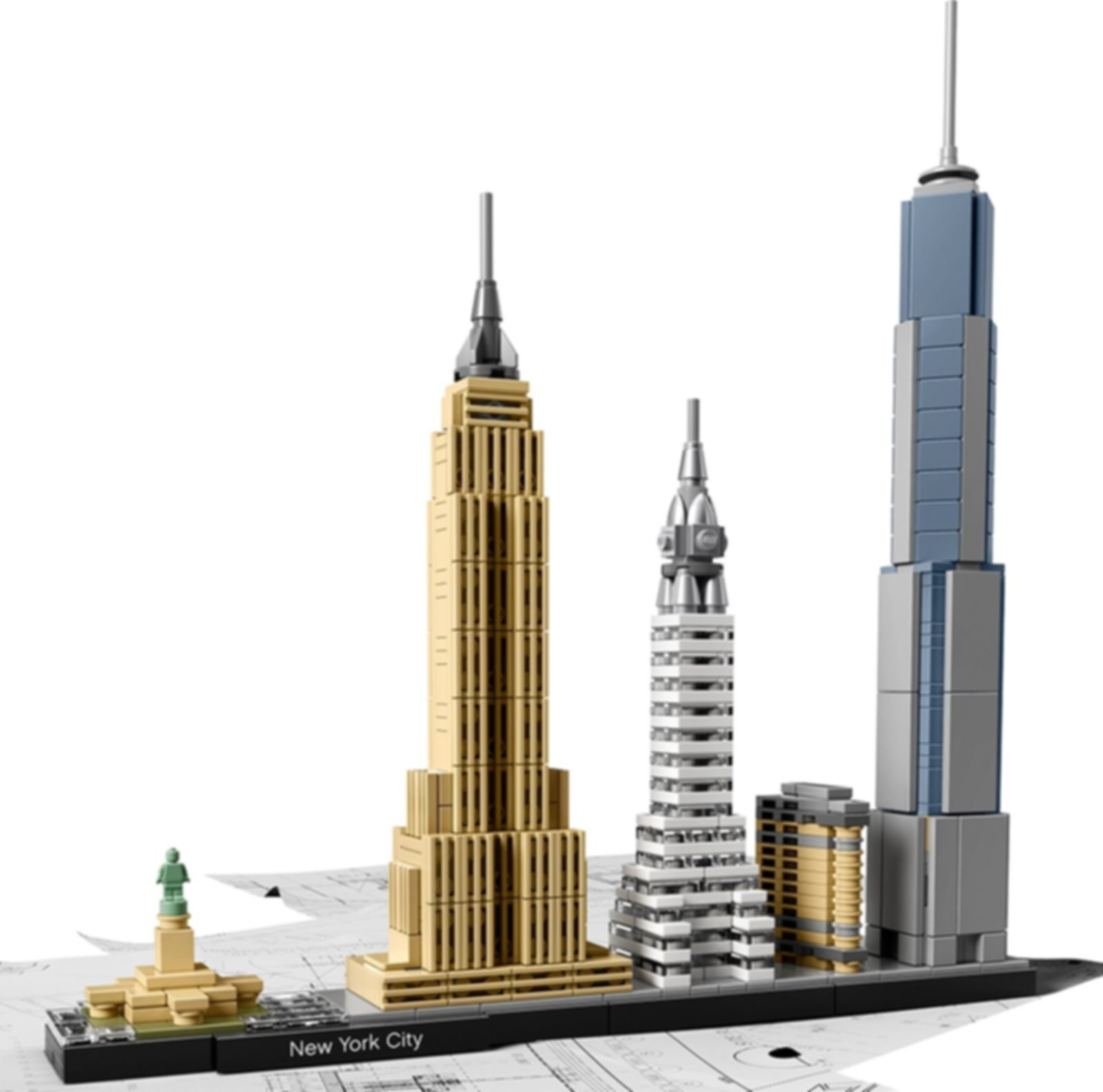 LEGO® Architecture New York City components