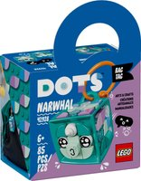 LEGO® DOTS Bag Tag Narwhal