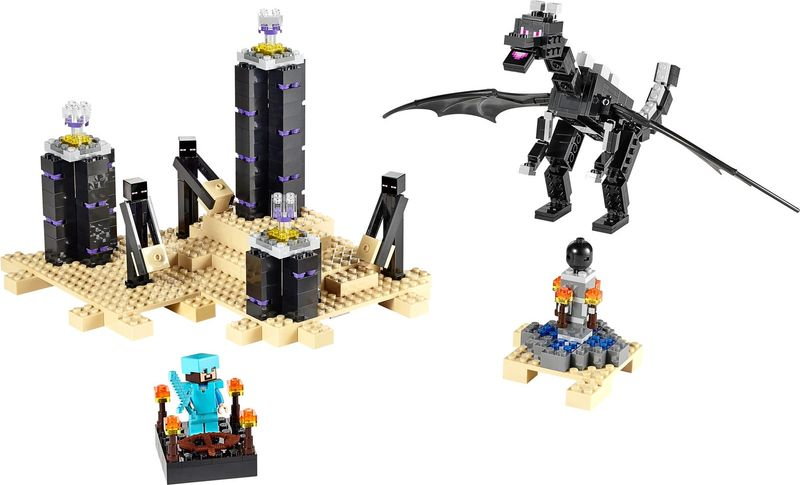 LEGO® Minecraft The Ender Dragon components