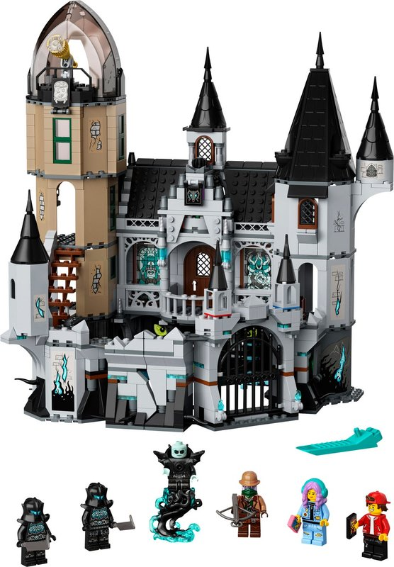 Mystery Castle components