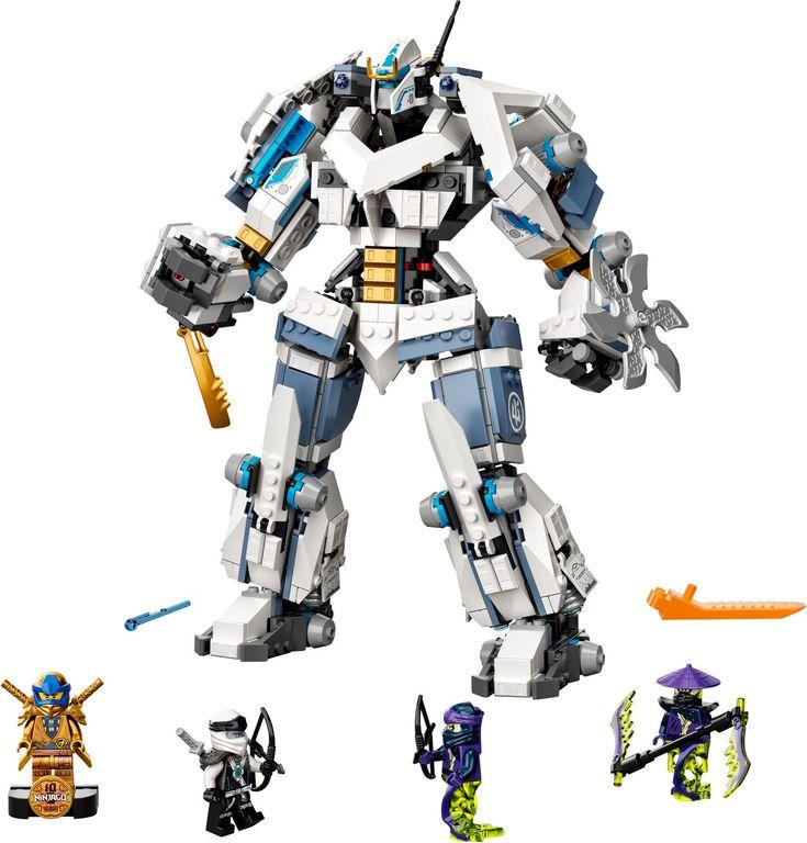 Zane's Titan Mech Battle components