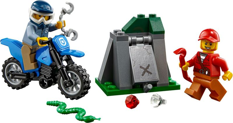 LEGO® City Off-Road Chase components