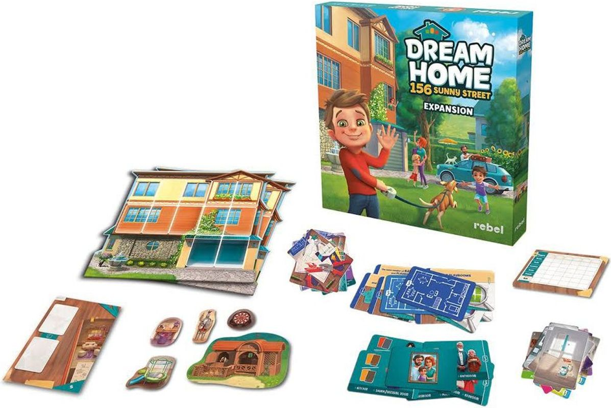Dream Home: 156 Sunny Street components