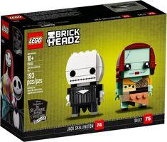 LEGO® BrickHeadz™ Jack Skellington & Sally