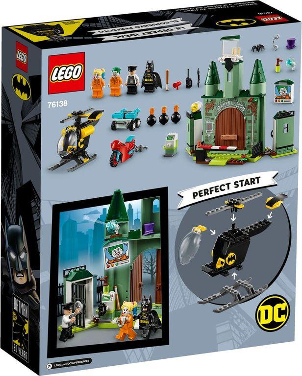 LEGO® DC Superheroes Batman™ and The Joker™ Escape back of the box