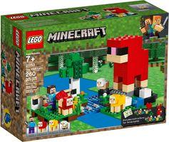 LEGO® Minecraft The Wool Farm