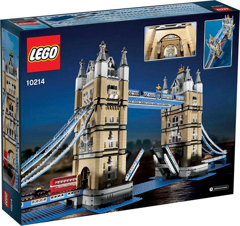 LEGO® Creator Expert Tower Bridge back of the box