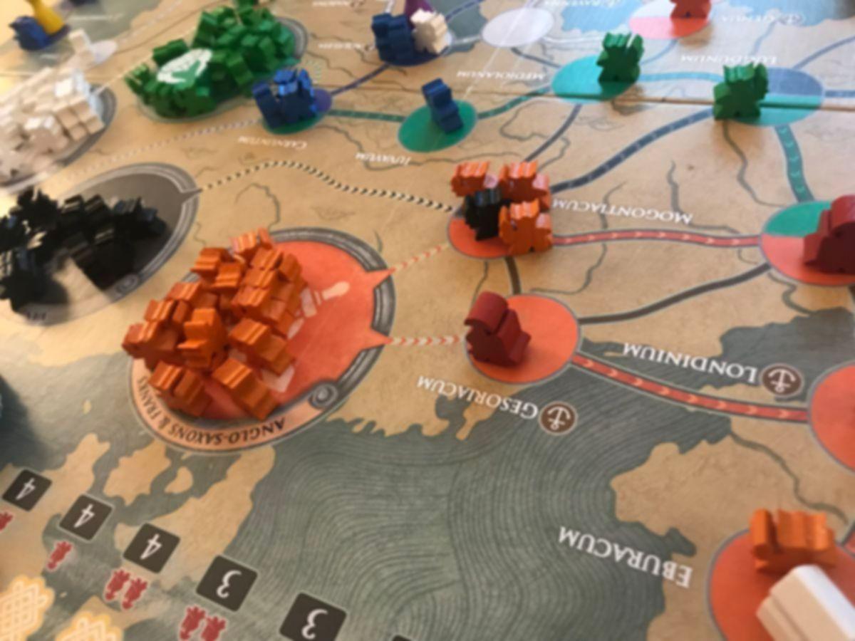 Pandemic: Fall of Rome gameplay