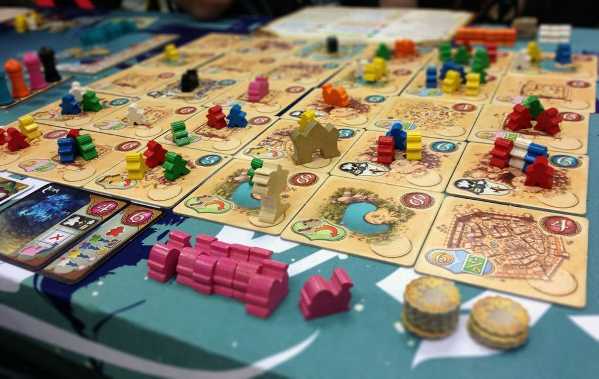 Five Tribes gameplay