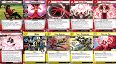 Marvel Champions: The Card Game – Scarlet Witch Hero Pack cards