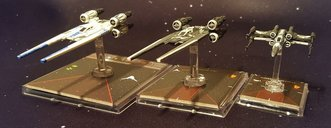 Star Wars: X-Wing Miniatures Game - Saw's Renegades Expansion Pack miniatures