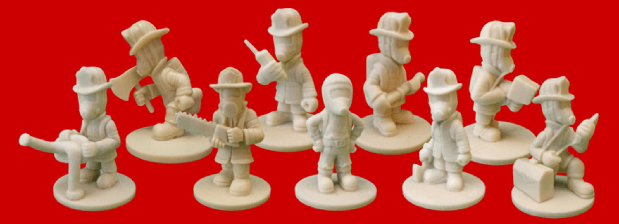 Flash Point: Fire Rescue - Extreme Danger miniatures