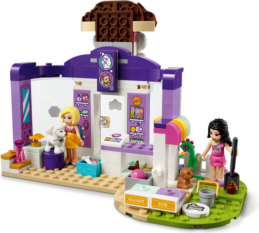 LEGO® Friends Doggy Day Care back side