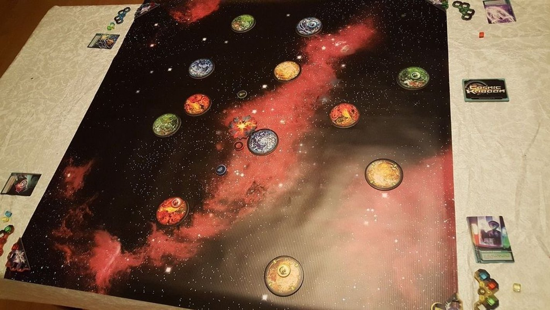 Cosmic Kaboom gameplay
