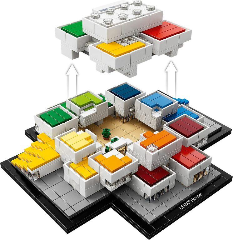 LEGO® Architecture LEGO® House components