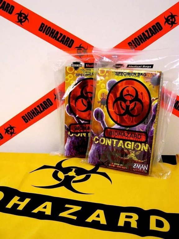 Pandemic: Contagion cards