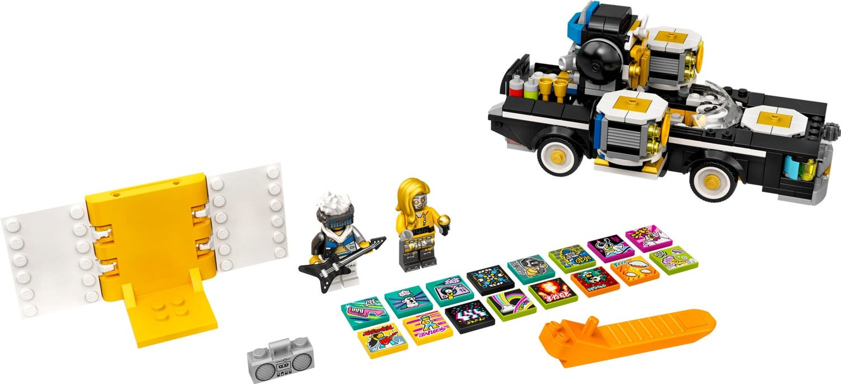 LEGO® VIDIYO™ Robo HipHop Car components