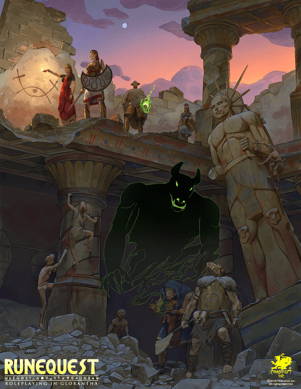 RuneQuest: Roleplaying in Glorantha