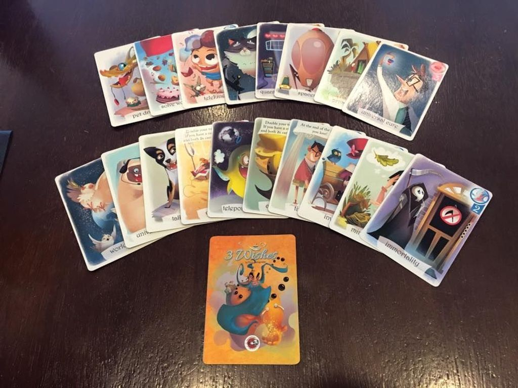3 Wishes cards