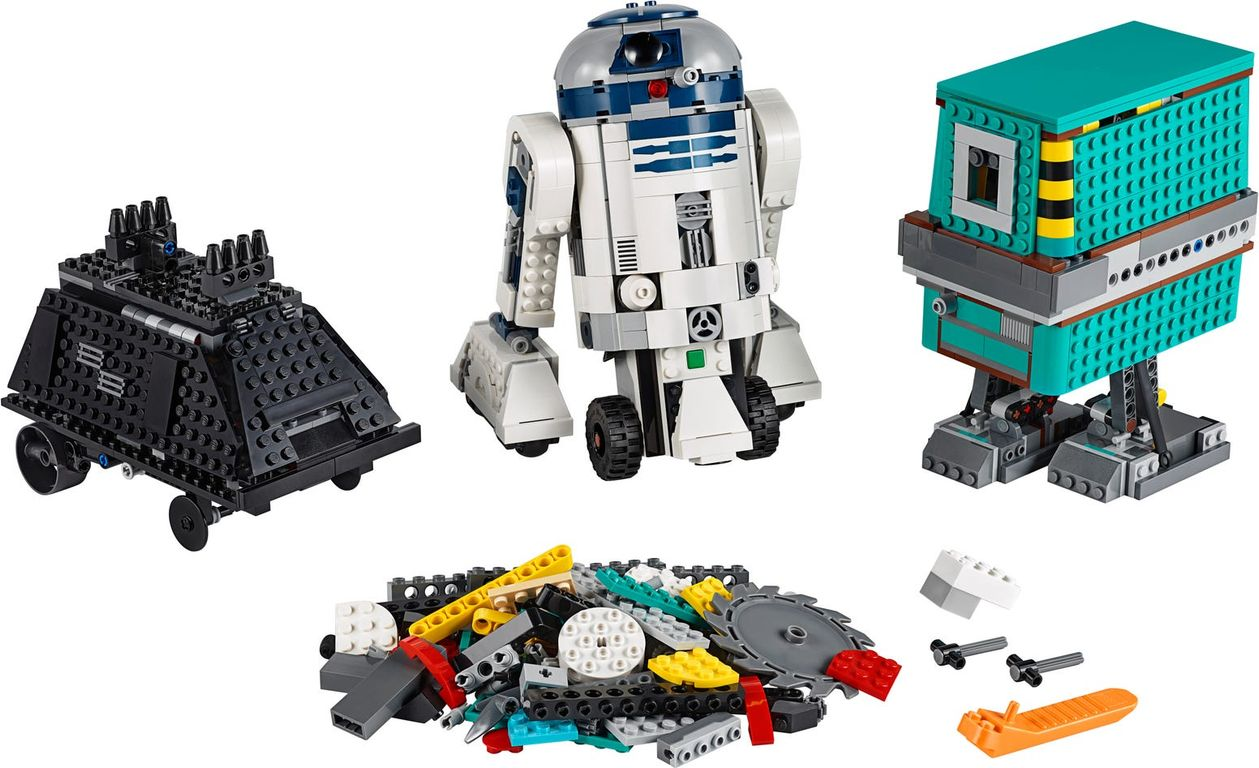 LEGO® Boost Droid Commander components