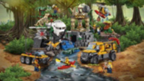 LEGO® City Jungle Exploration Site gameplay