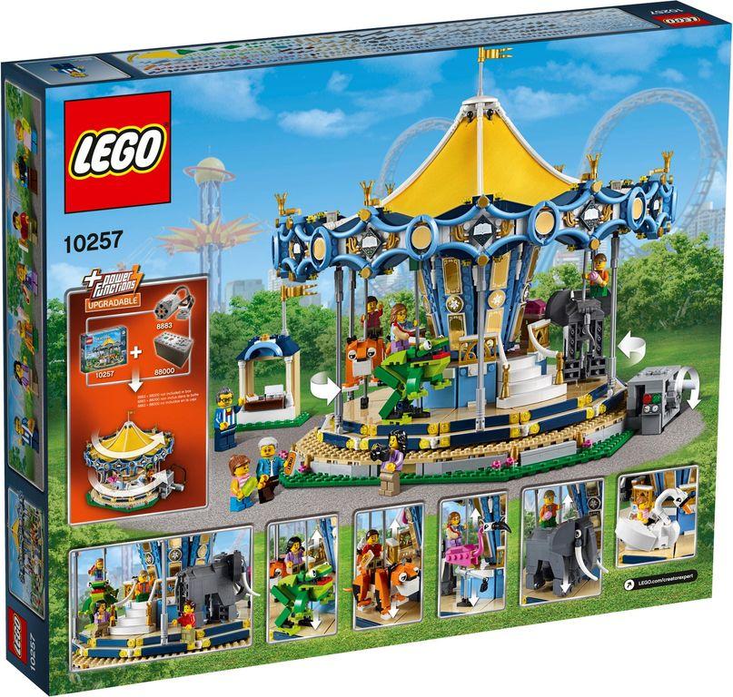 LEGO® Creator Expert Carousel back of the box