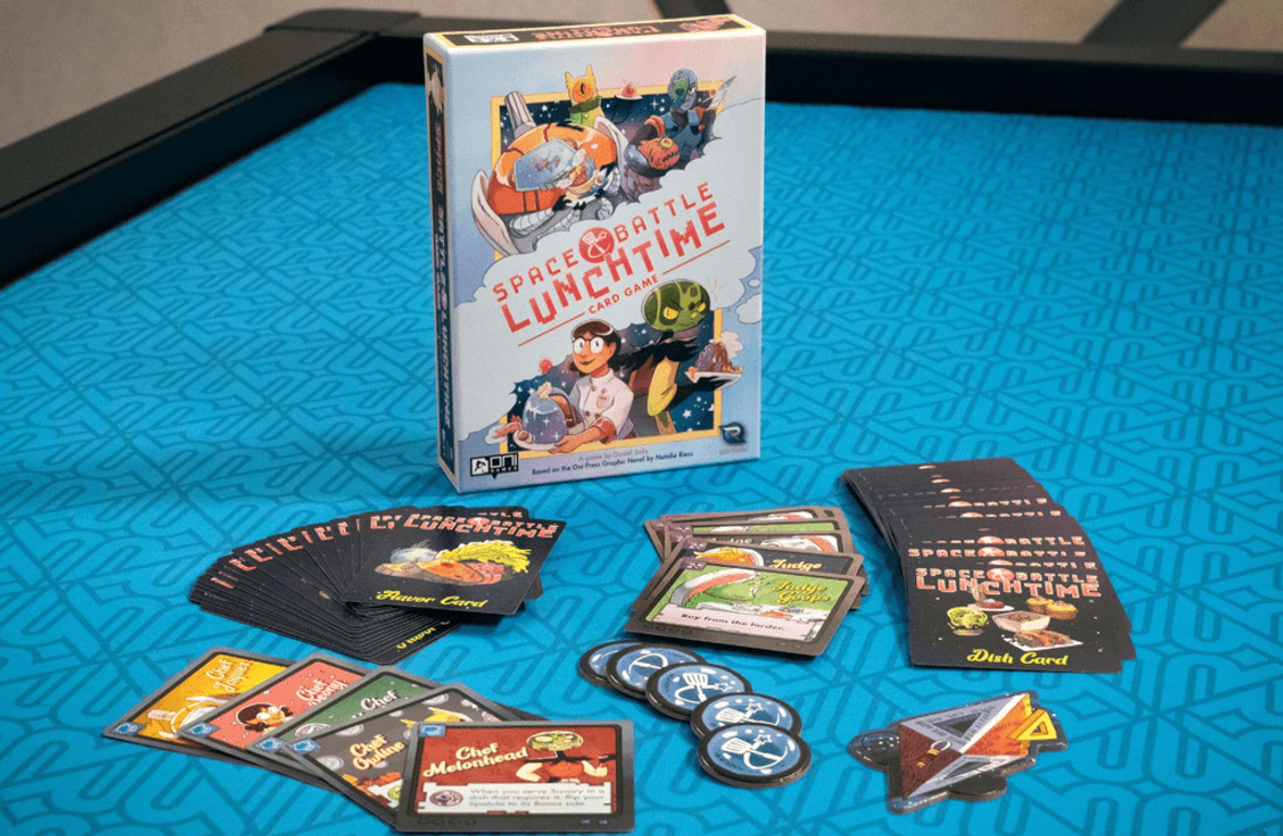 Space Battle Lunchtime Card Game cards