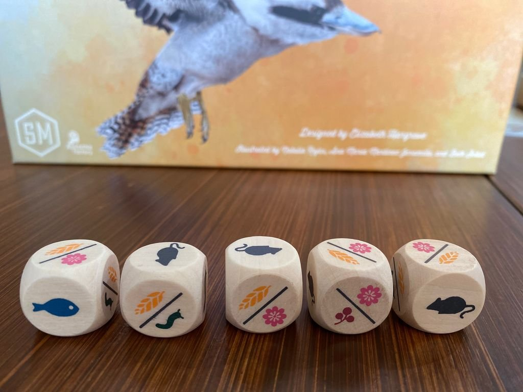 Wingspan: Oceania Expansion dice
