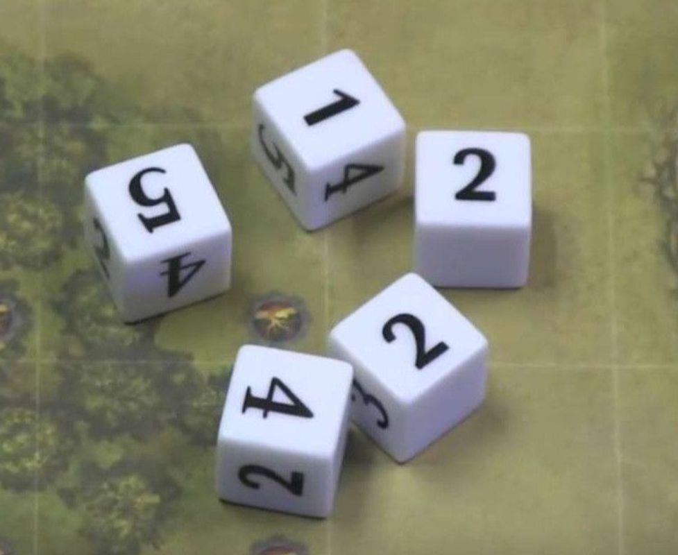 Mythic Battles dice