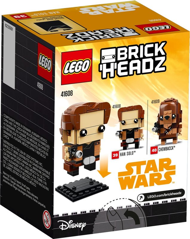 Han Solo™ back of the box