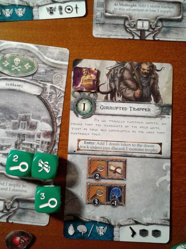 Elder Sign: Omens of Ice components