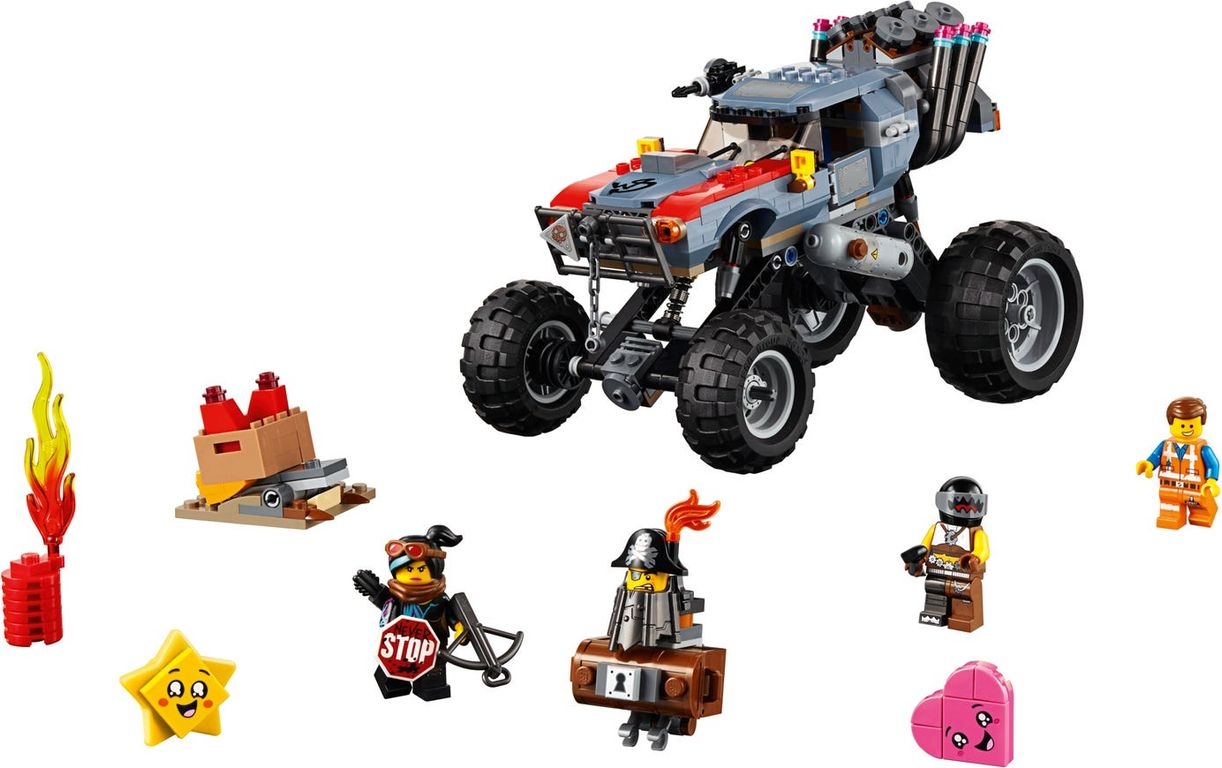 LEGO® Movie Emmet and Lucy's Escape Buggy! components