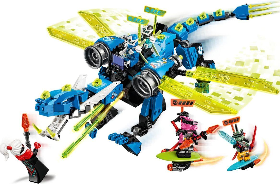 LEGO® Ninjago Jay's Cyber Dragon components