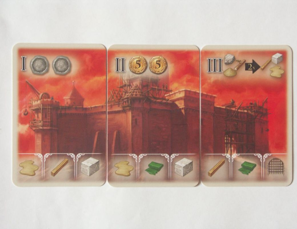 The Pillars of the Earth: Builders Duel cards