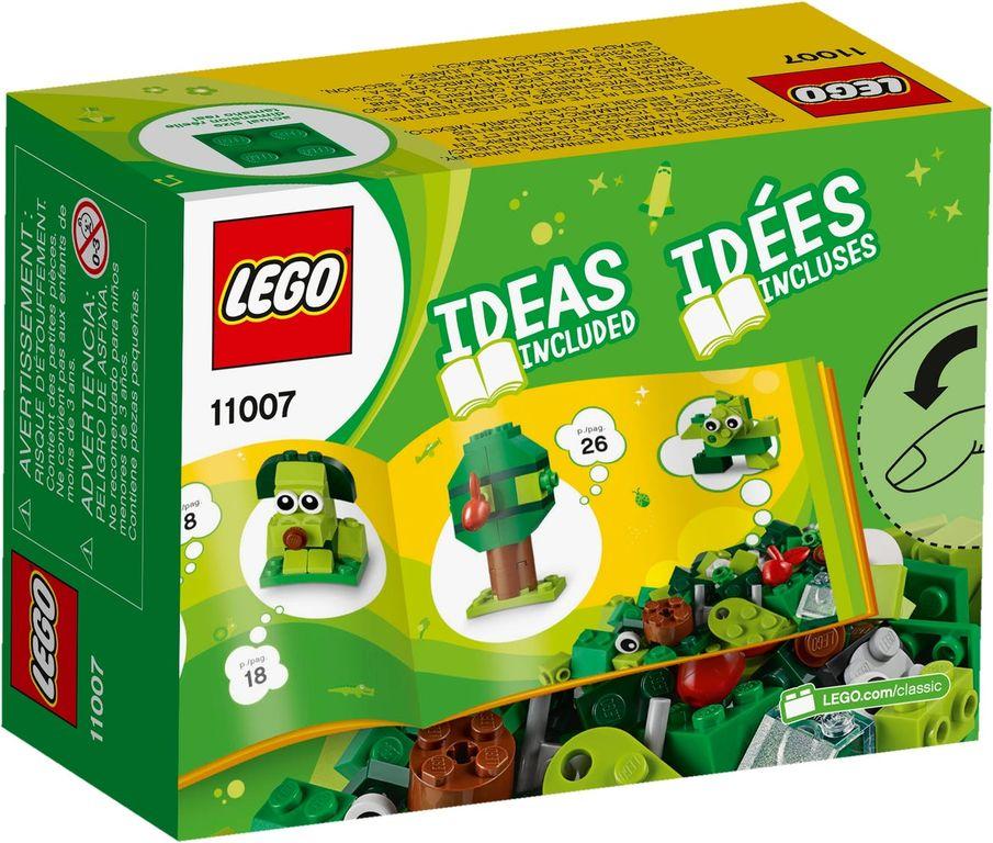 LEGO® Classic Creative Green Bricks back of the box