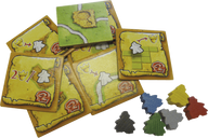 Carcassonne: The Messengers components