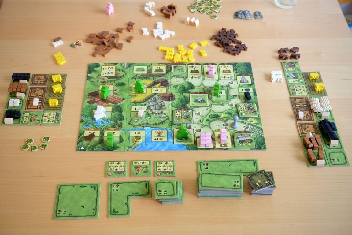 Agricola: Family Edition components