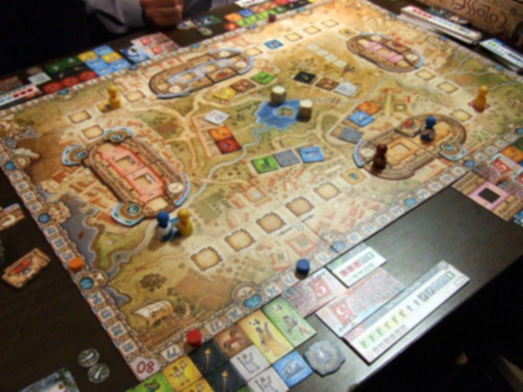 Colosseum gameplay