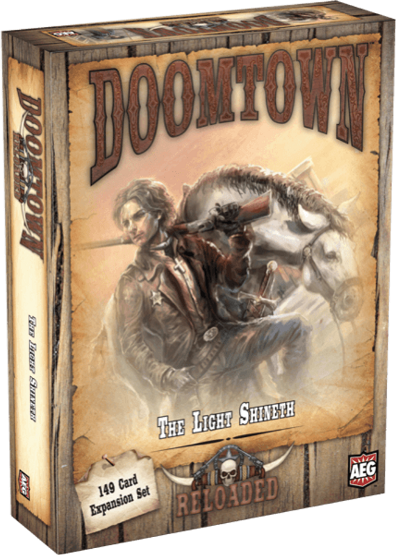 Doomtown: Reloaded - The Light Shineth box