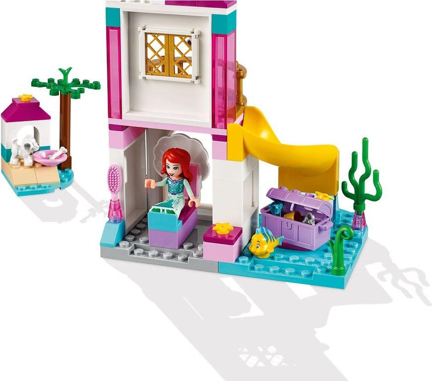 LEGO® Disney Ariel's Seaside Castle back side