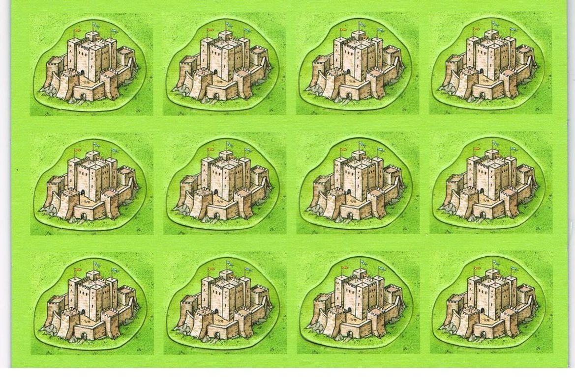 Carcassonne: Bridges, Castles, and Bazaars tiles