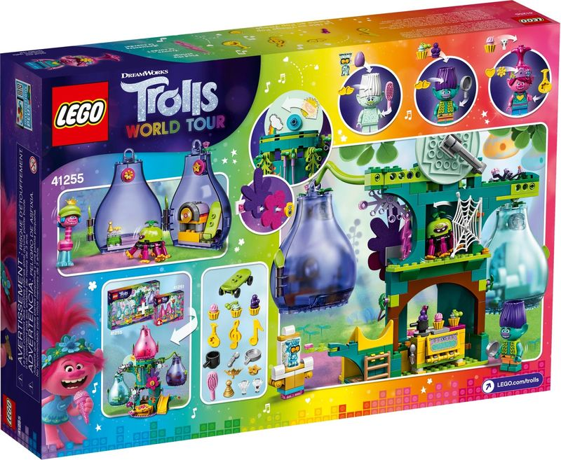 LEGO® Trolls Pop Village Celebration back of the box