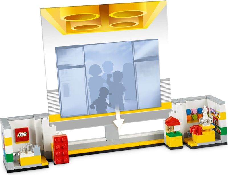 LEGO® Promotions Store Picture Frame components