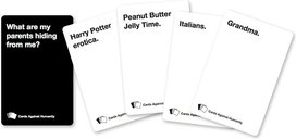 Cards Against Humanity cards