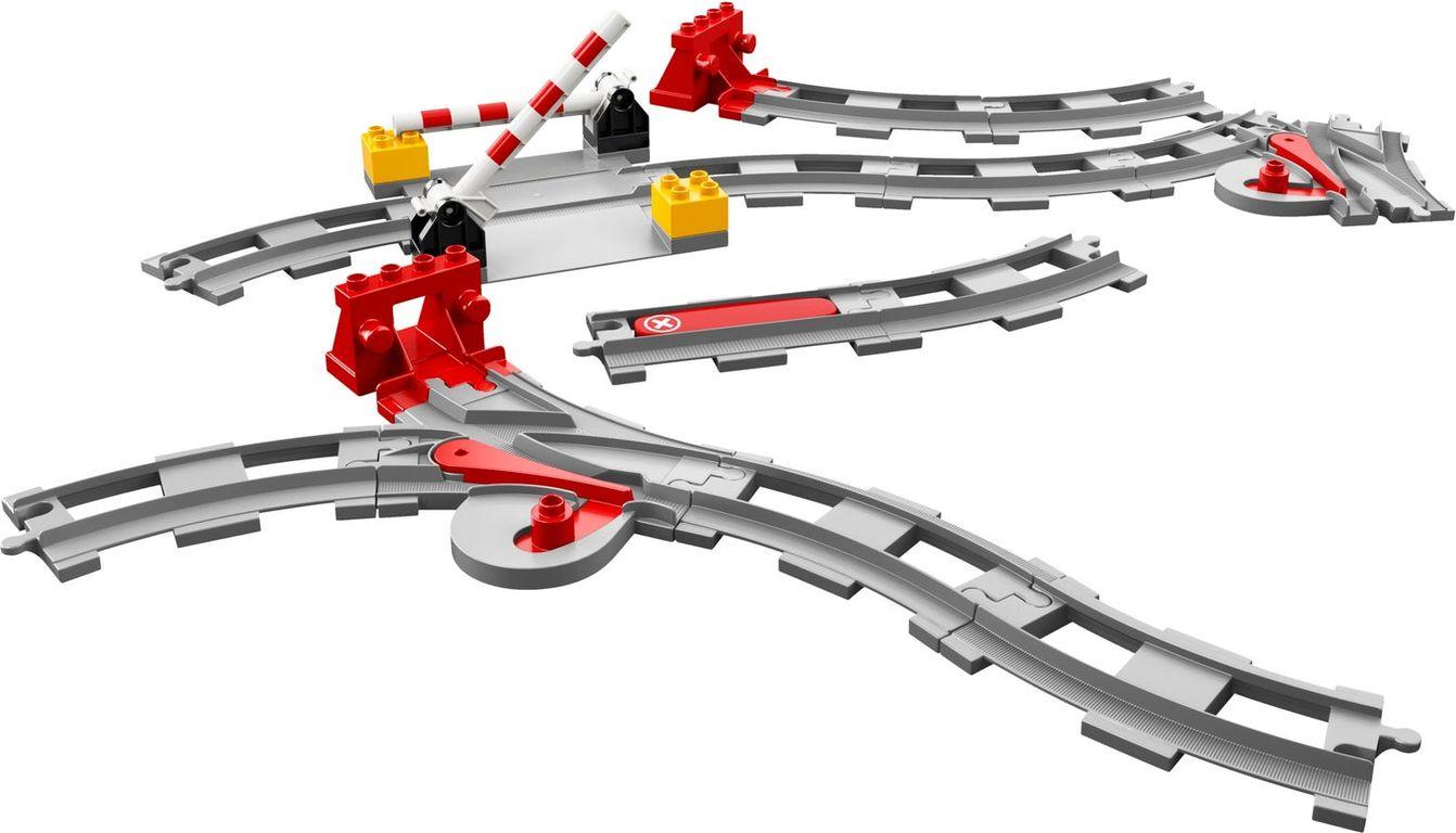 LEGO® DUPLO® Train Tracks components