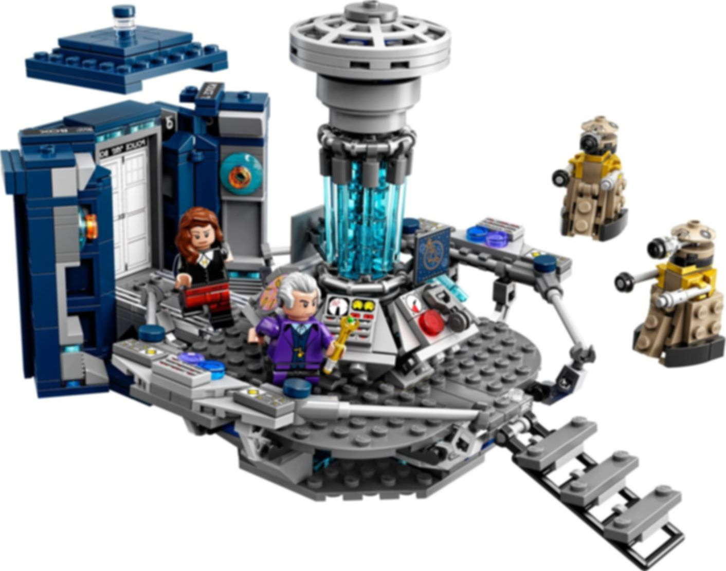 LEGO® Ideas Doctor Who components
