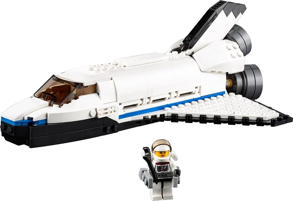 Space Shuttle Explorer components